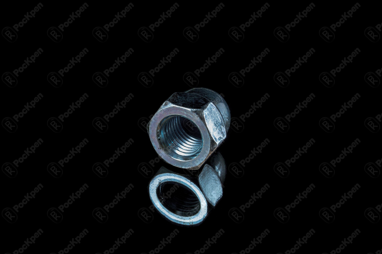 Гайка колпачковая шестигранная ГОСТ 11860-85 (DIN 1587)