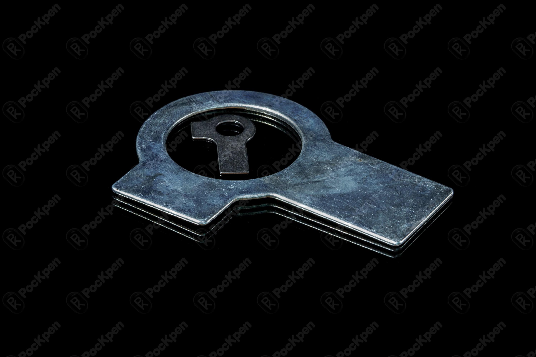 Шайба стопорная с двумя лапками DIN 463