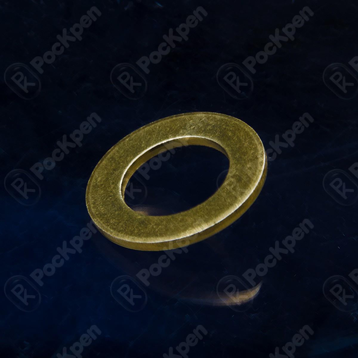Шайба латунная ГОСТ 11371-78, DIN 125