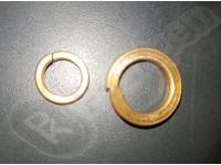 Шайба пружинная (гровер) бронза DIN 127