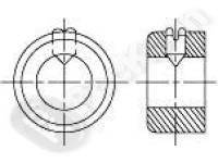 Кольцо установочное (стопорное) тяжелого исполнения DIN 703