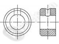 Кольцо установочное (стопорное), форма A, B DIN 705