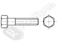 Болт высокопрочный с шестигранной головкой с увеличенным размером под ключ ГОСТ Р 52644-2006 (ISO 7411)