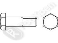 Болт высокопрочный с шестигранной головкой с увеличенным размером под ключ DIN 6914 (EN 14.399-4)