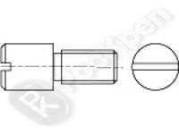Винт с цилиндрической цапфой и шлицем DIN 927