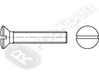 Винт с полупотайной головкой и прямым шлицем DIN 964 (EN ISO 2010)