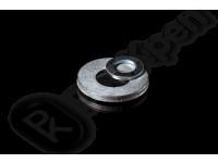 Шайба плоская сталь, цинк ГОСТ 11371-78, DIN 125