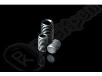 Винт установочный стопорный с внутренним шестигранником и плоским концом ГОСТ 11074-93 (DIN 913, EN ISO 4026)