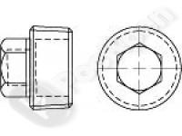Пробка резьбовая коническая с шестигранной головкой DIN 909