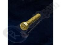Винт латунный ГОСТ 1491-80, DIN 84